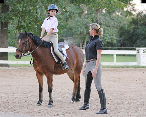 Horse Riding Lessons for Children and Adults